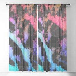 Dark opal Sheer Curtain