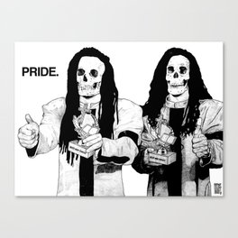 SEVEN DEADLY SINS: PRIDE. Canvas Print