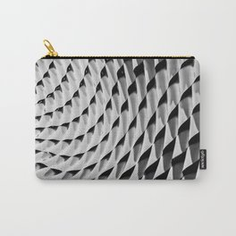 HOME DECOR,YOGA,iPHONE CASE,LAPTOP sleeve,BlackandWhite,Leggings,Geometrical,Unsymmetrical pattern Carry-All Pouch