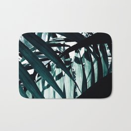 Inside of Palm Trees Bath Mat