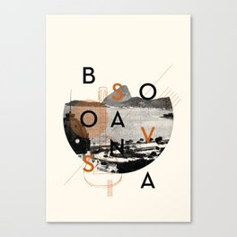 Bossa Nova Canvas Print