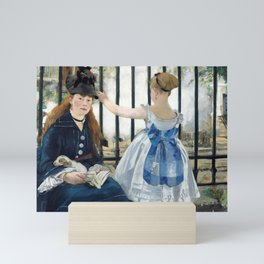 Edouard Manet - Le Chemin de fer (The Railroad) Mini Art Print