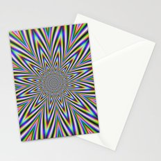 Psychedelic Star Stationery Cards
