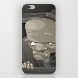 Mr. Sampaio iPhone Skin