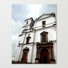 Majestic Church Canvas Print