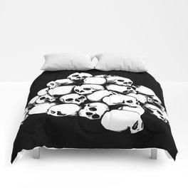 More Skulls Comforters
