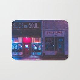 Slice - Memphis Photo Print Bath Mat
