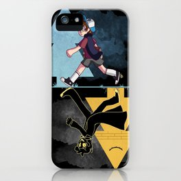 shadowed iPhone Case