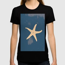 blue seashell T-shirt