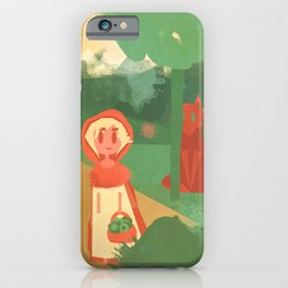 Little Red (Ver 2) iPhone Case