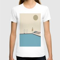 swimming T-shirts featuring Swimming by Jarom Ward