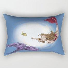 A Real Mermaid Rectangular Pillow