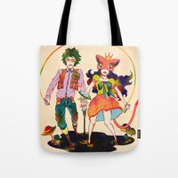 lsd Tote Bags featuring LSD love by Natsuki Otani