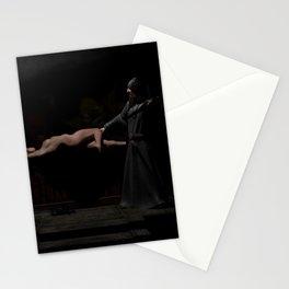 brujo y ninfa drogada Stationery Cards