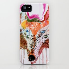 Summer Wolf iPhone Case