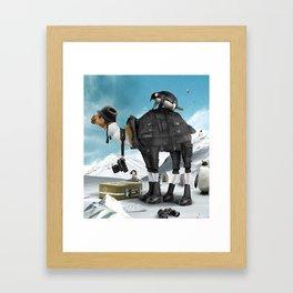 Tourist Framed Art Print
