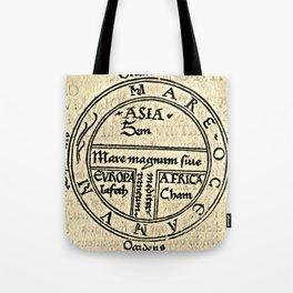 T and O map Guntherus Ziner 1472 Tote Bag