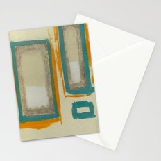 Soft And Bold Rothko Inspired - Modern Art Stationery Cards