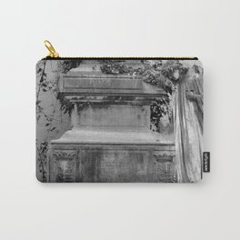 Angel and old grave Carry-All Pouch