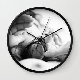 visage2 Wall Clock