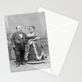 General Tom Thumb and His Wife Lavinia Warren - Circa 1880 Stationery Cards
