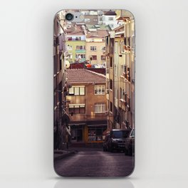 Small streets of Istanbul iPhone Skin