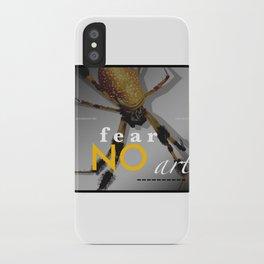 Orbweaver FEAR NO ART iPhone Case