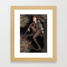 Eostre Framed Art Print