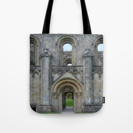 Glastonbury Abbey 1 Tote Bag