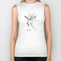 totes Biker Tanks featuring Totes ma Goats by Lauryn M