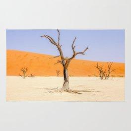 Deadvlei Namibia Desert Dead Trees Rug