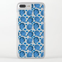 Pattern Project #36 / Heads in Clouds Clear iPhone Case