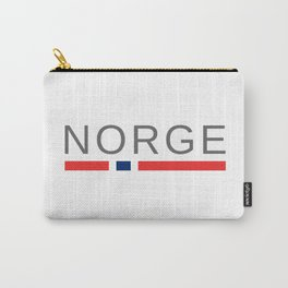 Norway Norge Carry-All Pouch