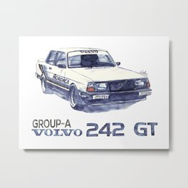 Volvo turbo Metal Print