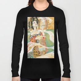 Klimt Oiran Long Sleeve T-shirt
