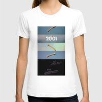 2001 a space odyssey T-shirts featuring 2001: a space odyssey by Lucas Preti