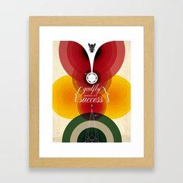 Gadfly Success Framed Art Print