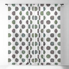 Dots #2 Sheer Curtain