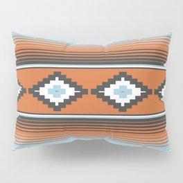 Modern Mexican Serape in Technicolor Pillow Sham