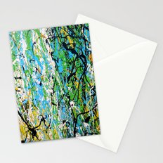 Echoed Splatter Stationery Cards
