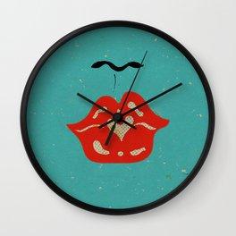 Kissy Lips Wall Clock
