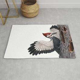 Pileated Woodpecker Rug