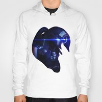 mass effect Hoodies featuring Mass Effect: Legion by Ruthie Hammerschlag