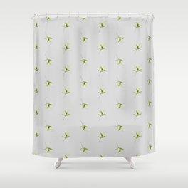 Minimal garden | l1 Shower Curtain