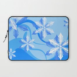 The Flower Abstract Holiday Laptop Sleeve