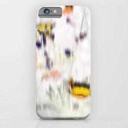 Wild Flowers III iPhone Case