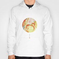 oriental Hoodies featuring Oriental by Tao Hua Wu Oriental Art