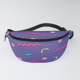 Memphis Pattern 20 - Miami Vice / 80s Retro Fanny Pack