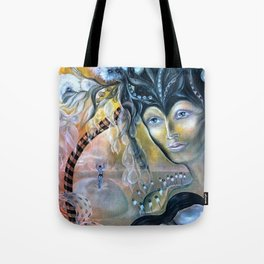 Birth of Pearl Tote Bag