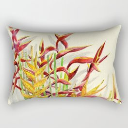 Heliconia Bouquet Rectangular Pillow